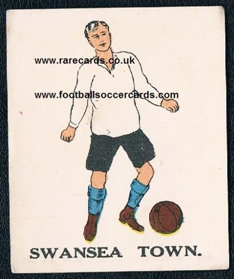 1923 Battocks Swansea Town card